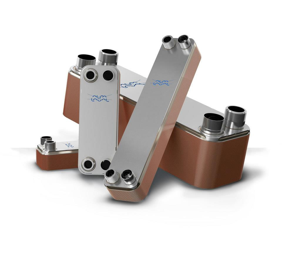 Picture - Alfa Laval Brazed Plate Heat Exchangers
