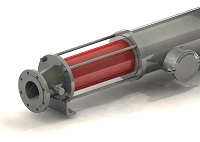 NTE TUB calorimetric porbe port
