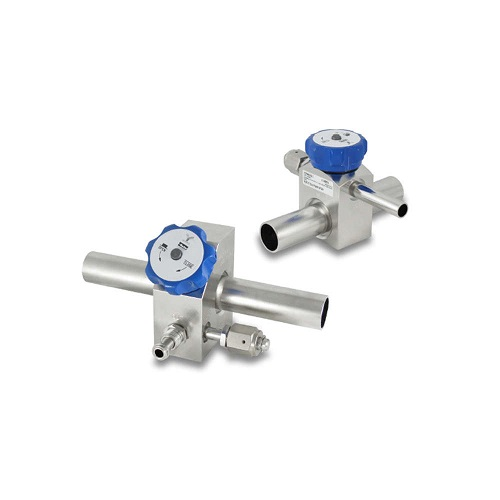 ULTRA HIGH PURITY DIAPHRAGM VALVES