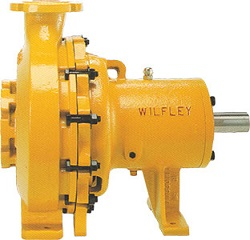 Wilfley Centrifugal Pumps Model ES Acid Slurry Pump