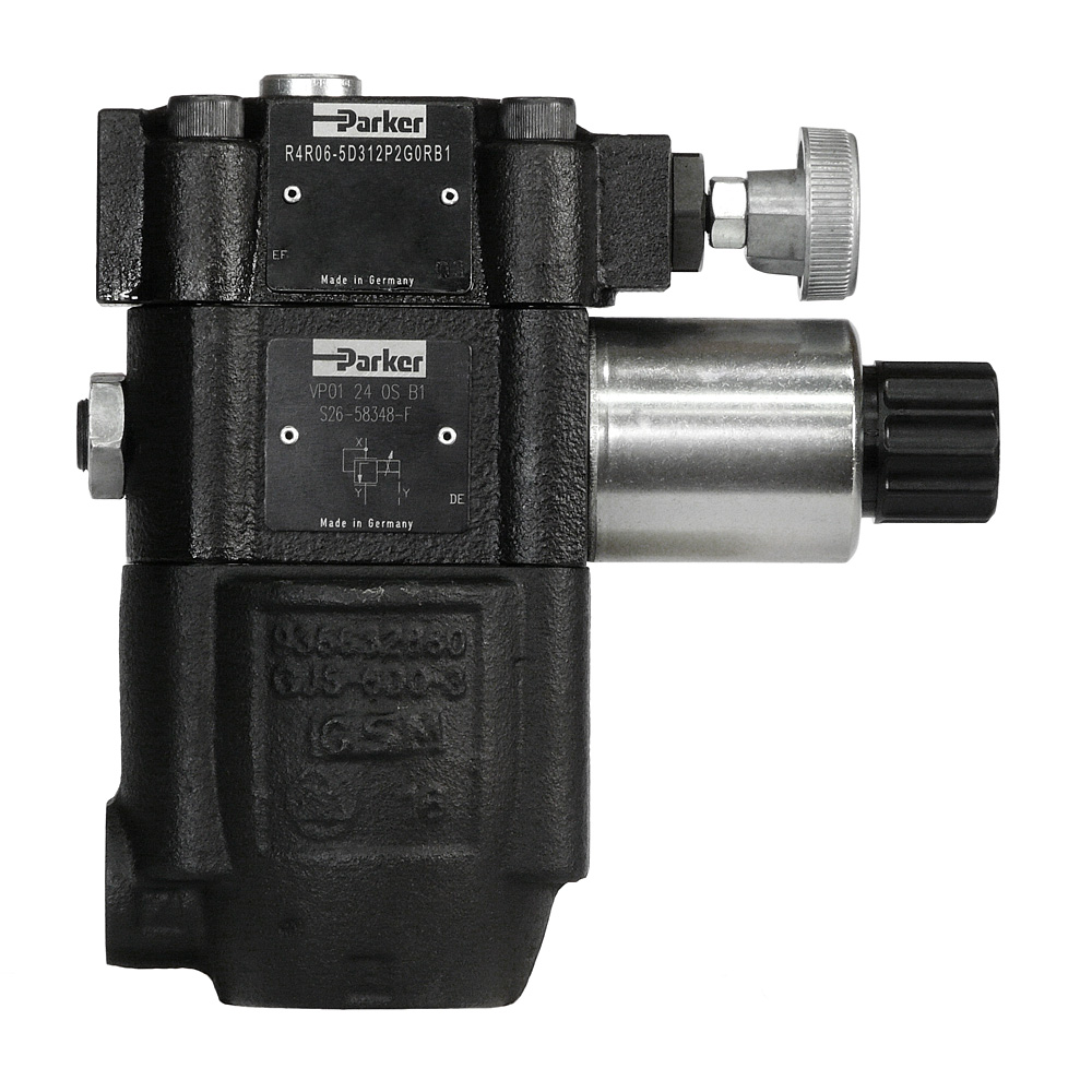Hydraulic Pressure Control Valves Pilotoperated Relief Circuits Valve R4r Pipe Series